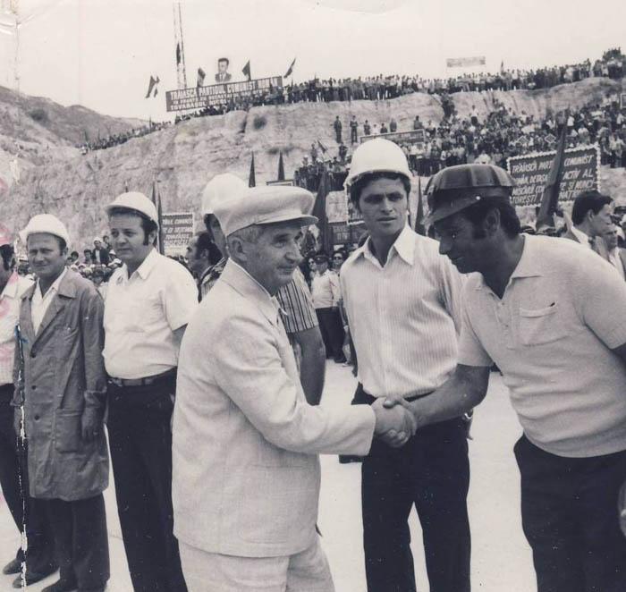 1979. 13 iulie. Vizita de lucru la Canalul Dunare-Marea Neagra